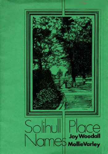 Solihull Place Names