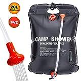 RuiMeer Camping Shower Bag 5 gallons/20L Solar Shower Bag for Outdoor Traveling Hiking Summer Shower