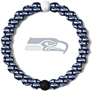 NFL SEATTLE SEAHAWKS BRACELET: This NFL Bracelet proudly displays the Seattle Seahawks logo, and is an excellent way to show your spirit for game day and give back to a great cause SIZE: Beaded silicone bracelet features a 6.5 inch circumference for ...