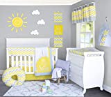 Baby Crib Bedding Set - Sunshine - Gender Neutral Nursery Crib Bedding Sets - Soft Quality Material With Vibrant Colors For a Dream Nursery Room - 2 Piece Baby Crib Set by Pam Grace