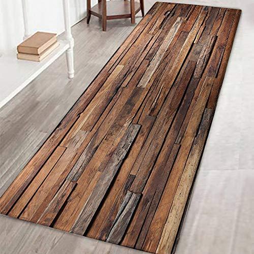 Tappeto antiscivolo, grande, a strisce, da usare come zerbino o per soggiorno, camera da letto,...
