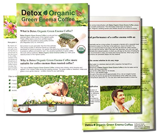 Detox Organic Green Enema Coffee (1 Pound) - Germany's No.1 for Therapy (Gerson), Weight Loss, Detox and Cleansing 4 - My Weight Loss Today