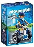 Playmobil - 6877 - Jeu - Policière avec Gyropode