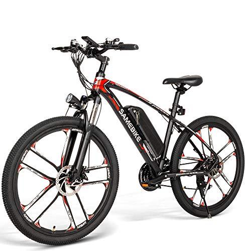 Coolautoparts Bicicleta Eléctrica de Montaña Ciclomotor 26 Pulgadas...