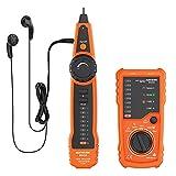 Tester Rete Telefonica RJ11 RJ45 Meterk Telefonici Cable Tester di...