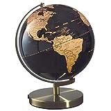 Mascagni Globe Lumineux 30 cm diam, Noir