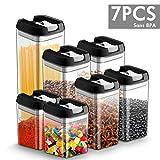 Chenci 7pcs Boîtes Hermétique Conservation Alimentaire Plastic Set de Boite...