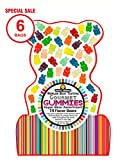 Happy Yummies Worlds Best Tasting Gourmet Gummies Super Bear Assortment 14oz (6 Bags)