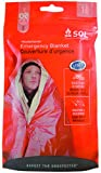 S.O.L. Survive Outdoors Longer S.O.L. 90% Reflective Emergency Blanket (Pack of 4)
