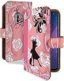 iPhone 12 ケース 手帳型 携帯ケース 魔女宅 桃 キキ ジジ おしゃれ アイフォン アイフォーン ……