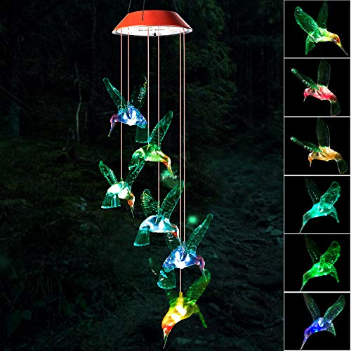 Wind Chime, Hummingbird Wind Chimes Outdoo, gifts for mom,...