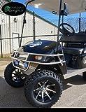 EZGO TXT Electric Golf Cart 2001-2013 6' STEELENG Lift Kit + 12'...