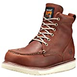 Timberland PRO Men's 53009 Wedge Sole 6' Soft-Toe Boot,Rust,11.5 W