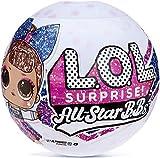 LOL Surprise All-Star BBs - Équipe de pom-pom girls - Poupée étincelante sportive avec 8 Surprises et accessoires - All-Star BBs Série 2 - Poupées à collectionner pour les filles de 3 ans et +