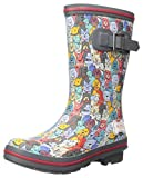Skechers BOBS Women's Rain Check-April Showers Boot, Multi, 9 M US