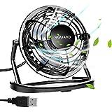VGUARD Mini Ventilateur USB Fan, 360 Degrés Rotation,...