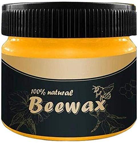 Cera d'api Cura dei Mobili, ZoneYan cera d'api per la cura, cera per legno Polishe, Beeswax Wood...