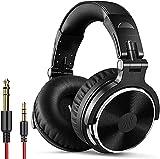 OneOdio Cuffie Over Ear, Cuffie DJ Professionali per Monitoraggio, Cuffie Chiuso da Studio, Cuffie Isolamento Acustico, Cuffie Musica con Cavo della Spina...