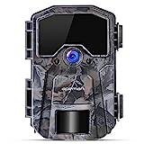 APEMAN Trail Camera 20MP 1080P Wildlife Camera, Night Detection Game Camera with No Glow 940nm IR...