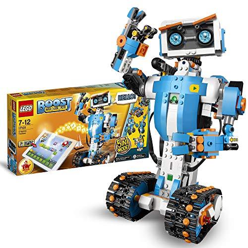 LEGO 17101 Boost Caja de Herramientas Creativas, Maqueta 5en1, Juguete...