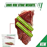 Sous Vide Stone Weights (2 pack) Keep Sous Vide Bags Submerged (2)