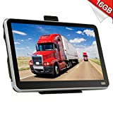 Xgody 560 Portable Truck GPS Navigation for Car 5 Inch Sat Nav Touch Screen Support Spoken Turn-by-Turn Directions and Speed Limit Displays with Lifetime Free Maps Updated Sunshade