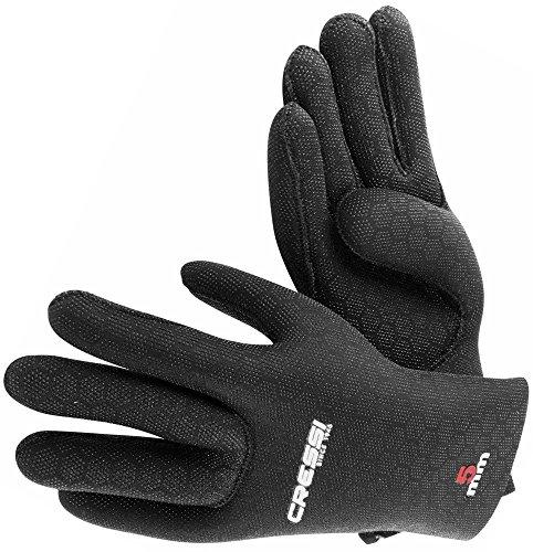 Cressi High Stretch Gloves, Guanti in Neoprene Elastico 5 mm per Apnea e Immersioni, Unisex Adulto,...