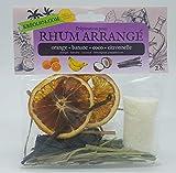 Préparation pour rhum arrange ile de la REUNION saveur ORANGE BANANE COCO CITRONNELLE