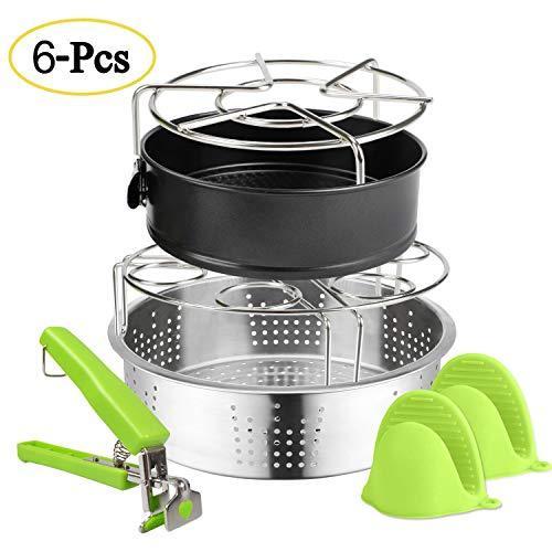 Expower Kit Accessori per Pentola a Pressione Elettrica Utensili Cucina per Cottura a Vapore in...