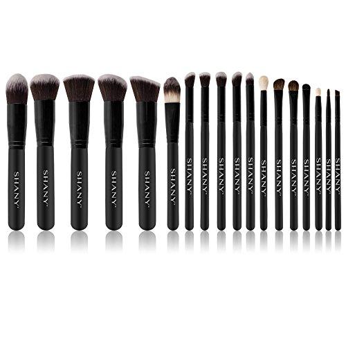Product Image 3: SHANY Artisan's Easel – Elite Cosmetics Brush Collection, Complete Kabuki Makeup Brush Set with Standing Convertible Brush Holder, 18 pcs
