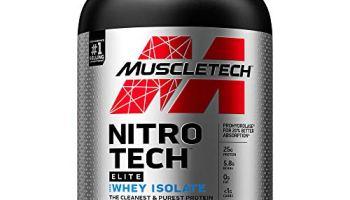 MuscleTech Nitro-Tech Iso Whey Protein, Milk Chocolate, 1.8 lbs