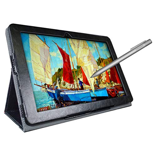 [4 Bonus Items] Simbans PicassoTab 10 Inch Drawing Tablet and Stylus Pen, 2GB, 32GB, Android 9 Pie, Best Gift for Beginner Graphic Artist Boy, Girl, HDMI, USB, GPS, Bluetooth, WiFi - P92