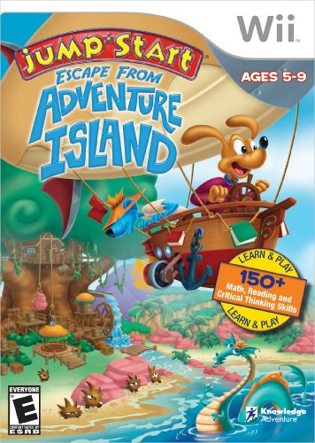 Jumpstart Escape Adventure island - Nintendo Wii