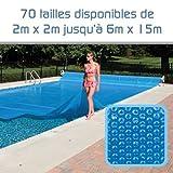 Linxor France Bâche à Bulles sur Mesure 300 microns / 70 Tailles...