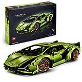 LEGO- Technic Lamborghini Sián FKP 37, Set di Costruzioni per Adulti, Modello da Collezione Esclusivo, 42115
