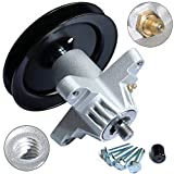KOOTANS Mower Spindle Assembly for Cub Cadet MTD 918-04474 918-04474A 918-04474B 618-04474 618-04474A 618-04495 918-04495, Toro 112-6063, for 285-889, 80-11-779, CP 30-8012, with Bolts & Grease Zerk