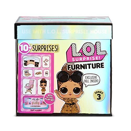 Image 5 - LOL Surprise Poupées collectionnables pour filles - Avec 10 surprises et accessoires - Boss Queen - Mobilier Series 3
