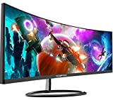 Sceptre Curved 30' 21:9 Gaming LED Monitor 2560x1080p UltraWide Ultra Slim HDMI DisplayPort Up to 85Hz MPRT 1ms FPS-RTS Build-in Speakers, Machine Black (C305W-2560UN)