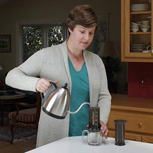 AeroPress Coffee and Espresso Maker - Quickly Makes Delicious Coffee Without Bitterness - 1 to 3 Cups Per Pressing 4