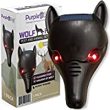 iPrimio Wolf Head with Flashing Eye Lights with Back Light to Create Silhouette - Scares Deer (1 Pack)