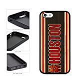 BleuReign(TM) Basketball Team Hashtag Houston #Houston TPU Rubber Silicone Phone Case Back Cover for Apple iPhone 5 5s