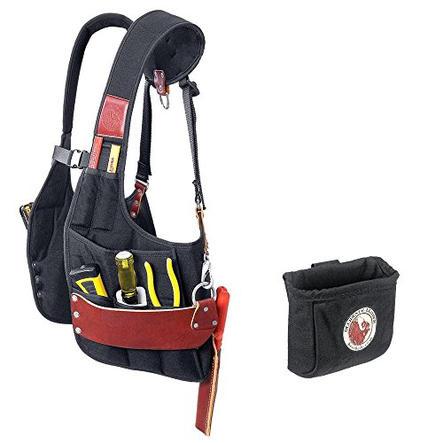 Occidental Leather 2500 Stronghold SuspendaVest Bundle w/ 9501 Clip-On Pouch (2 Pieces)