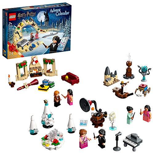 LEGO Harry Potter Calendario dell'Avvento 2020, Mini Set di Costruzioni Natalizie, Scena del Ballo di Natale di Hogwart, 75981