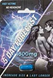 5 Day Forecast Male Sexual Enhancer Supplement. 100% Authentic (2)