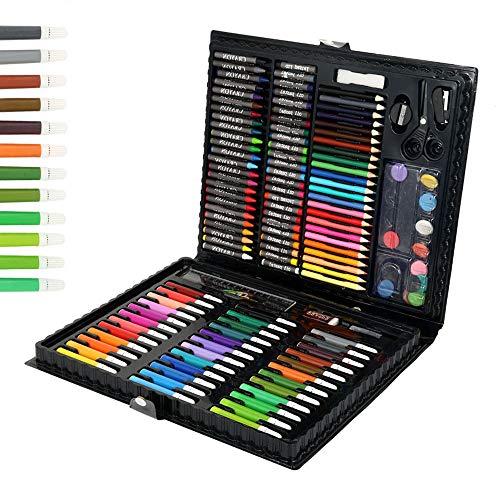 Stronghigheu 150 Pz Creativity Art Set Valigetta Artista per Bambino Disegno e Pittura Impostato per...