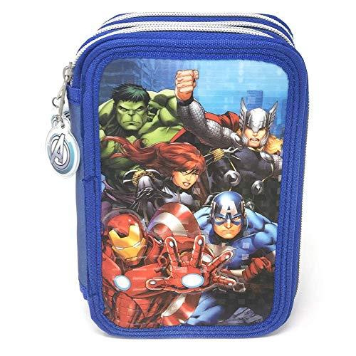 Los Vengadores AvengersMarvel Astuccio Astuccio a 3Livelli, ast1548