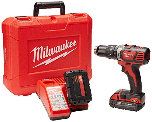 Milwaukee M18 Compact 1/2' Hammer Drill/Driver Kit (2607-22CT)