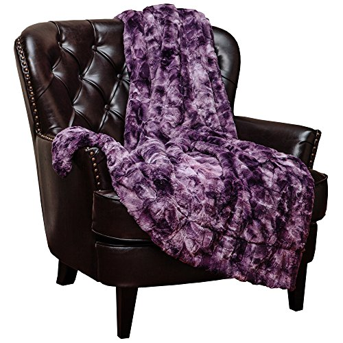 Chanasya Faux Fur Throw Blanket | Super...