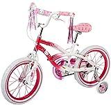 Dynacraft Hello Kitty Girls BMX Street Bike 16', Pink/White/Pink