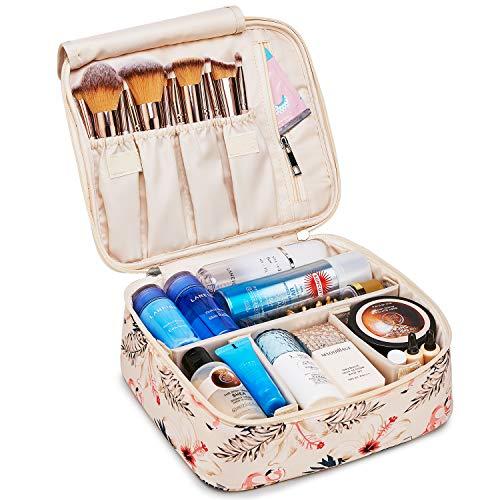 Grande trousse de maquillage de voyage pour femmes et filles (Flamant rose...